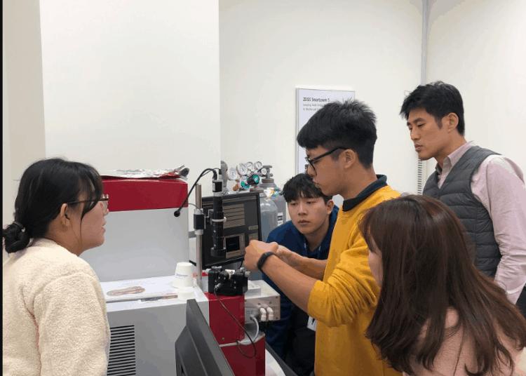 2018 Technoorg Linda 離子研磨機SEMPREP2韓國教育訓練-4